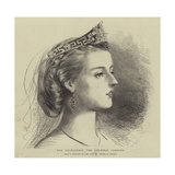 Her Excellency the Countess Spencer Giclee Print by George Housman Thomas