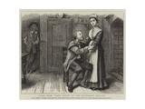 Scene from Dan'L Druce at the Haymarket Theatre Giclee Print by George Goodwin Kilburne