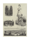 Sketches in Pyrmont Giclee Print by Georges Labadie Pilotell