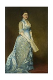 Portrait of Emma Thursby (1845-1931), 1879 Reproduction procédé giclée par George Peter Alexander Healy