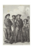 Man-Of-War's Men Giclee Print by George Housman Thomas