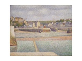 Port-En-Bessin: the Outer Harbor (Low Tide), 1888 Giclee Print by Georges Seurat