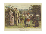 Christmas in Australia Giclee Print by George Goodwin Kilburne