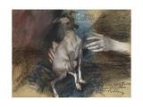 Elegante Au Chien Giclee Print by Giovanni Boldini