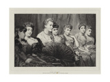 Fair Critics Giclee Print by George Elgar Hicks