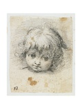 Portrait of a Child Giclee Print by Giuseppe Cesari