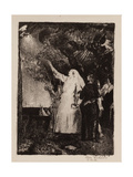 Hail to Peace, Christmas 1918 Giclee Print by George Wesley Bellows