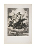 The Vision of Ezekiel, 1808 Giclee Print by Giuseppe Longhi