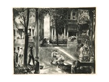 Sixteen East Gay Street, 1923-24 Giclee Print by George Wesley Bellows
