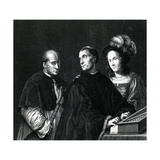 The Concert Giclee Print by  Giorgione