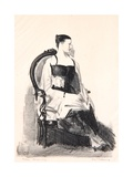 Elsie, Figure, 1921 Giclee Print by George Wesley Bellows