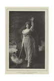 Lady Hamilton as Circe Giclee Print by George Romney