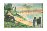 Study for 'Une Baignade', C.1883 Giclee Print by Georges Seurat