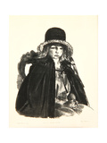 Jean in a Black Hat, 1923-24 Giclee Print by George Wesley Bellows