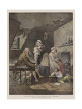 The Effects of Extravagance and Idleness Giclee Print by George Morland