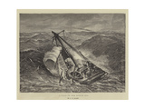 A Gale in the North Sea Giclee Print by George Henry Andrews