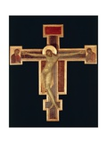 Santa Croce Crucifix, C.1280 Giclee Print by Giovanni Cimabue