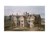 View of Trerice, Cornwall, 1819 Giclee Print by George Shepherd