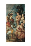 Rinaldo and the Nymphs Giclee Print by Giovanni Antonio Guardi
