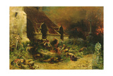 The Chouans Defending their Dead, 1902 Giclee Print by Georges Clairin