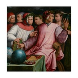Six Tuscan Poets, 1544 Giclée-Druck von Giorgio Vasari