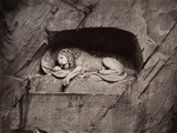 The Lion, Lucerne, Switzerland Photographic Print by Giorgio Sommer