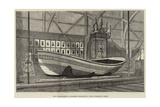 The International Fisheries Exhibition, Grace Darling's Boat Giclee Print by George Henry Andrews