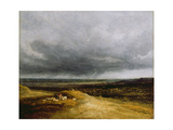 Approaching Storm, C.1820-25 Giclee Print by Georges Michel