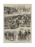 The Floods in France, Sketches at Toulouse Giclee Print by Godefroy Durand