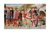 Procession of Florentine Artistocratics Giclee Print by Giovanni Di Francesco Del Cervelliera