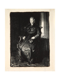 Study of My Mother, 1921 Giclee Print by George Wesley Bellows