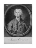Giovanni Carestini (C.1704-C.1760), 1735 Giclee Print by George Knapton