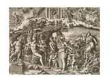 The Judgment of Paris, 1555 Giclee Print by Giorgio Ghisi