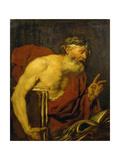 A Philosopher Giclee Print by Giambattista Langetti