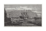 The Canadian Lumber Trade, Timber Coves at Quebec Giclee Print by George Henry Andrews