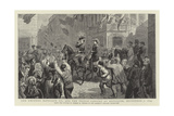 The Emperor Napoleon III and the Prince Consort at Boulogne, 7 September 1854 Giclee Print by George Housman Thomas