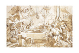The Last Supper Giclee Print by Giandomenico Tiepolo