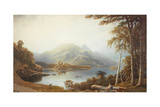 Lower Lake at Killarney from Muckross Giclee Print by George Fennel Robson