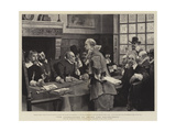 The Councillors of Peter the Headstrong Giclee Print by George Henry Boughton