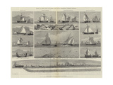 Models of Fishing Boats and Fishing Gear in the International Fisheries Exhibition Giclee Print by George Henry Andrews