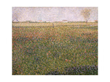 Alfalfa, St. Denis, 1885 Giclee Print by Georges Seurat