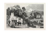 The Village Smithy, Exhibition of the Society of Painters in Water Colours, 1851 Giclee Print by George Haydock Dodgson