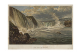 The Falls of Niagara Giclee Print by George Henry Andrews