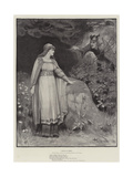 Thora of Rimol Giclee Print by George Sheridan Knowles