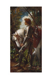 Sir Galahad Giclee Print by George Frederick Watts