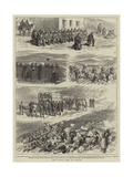 The Civil War in Spain Giclee Print by Godefroy Durand