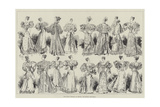 The Royal Wedding at Coburg, the Bridal Trousseau Giclee Print by Georges Labadie Pilotell