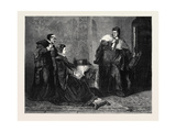 Lady Jane Grey's Victory over Bishop Gardiner, 1871 Giclee Print by George Frederick Folingsby