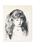 Sketch of Anne, 1923-24 Giclee Print by George Wesley Bellows