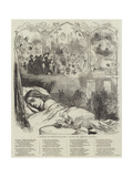 A Dream of Twelfth-Night Giclee Print by George Housman Thomas